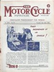 BSA Motorcycle Poster P124
